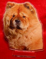 statuette photosculptée chien chow chow 5 dog hund estatua perro statua