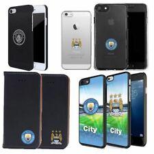 Manchester City Football Wallet 3D Gel Aluminium Case for iPhone 4 5 SE 6 6S 7