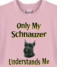Big Dog T Shirt Schnauzer Understand 78 Pet Cat Puppy Adopt Animal Men Women
