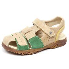 E5976 sandalo bimbo beige/green NATURINO scarpe strappo sandal shoe kid boy