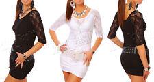 "New Collection - Romantic Mini Dress Tunic ""Moon"" 3049"