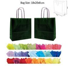 vert foncé sacs en papier pour fête - cadeau de Mariage Neuf Sac & tissu