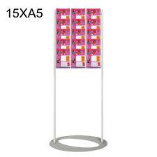 Brochure Stand/ Floor Brochure Holder/ Free Standing Leaflet Display-15XA5