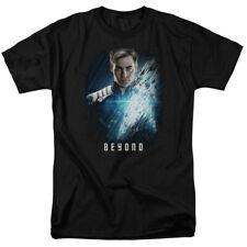 Star Trek Beyond Movie Chris Pine as Kirk Adult Licensed Tee Shirt Sizes S-3XL