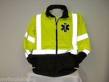 Reflective EMS, Raincoat/Windbreaker, Choose Your Jacket Prints, Small-XXL