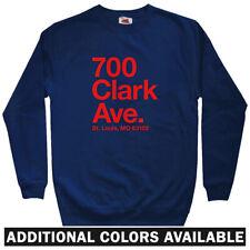 St Louis Baseball Stadium Men's Sweatshirt - Crewneck S-3X - Cardinals Gift Fan