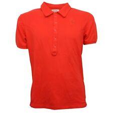 C7106 maglia uomo DIESEL polo arancione t-shirt man
