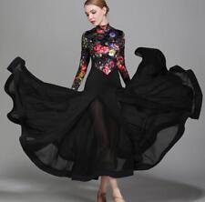 Ballroom Competition Dance Dress Modern Waltz Standard Full Length DressThbox