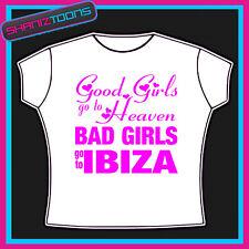 Ibiza Niñas vacaciones Hen party Impreso Camiseta