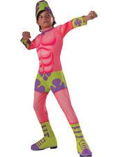 Kids Boys SpongeBob Patrick Mr. Superawesomeness Costume