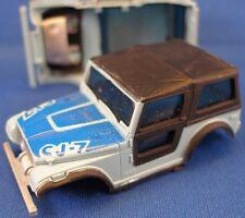 1980 Aurora AFX MT HO Jeep Renegade CJ-7 Body Blue 1962