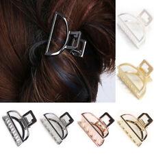 Metal Hair Claw Hair Crabs Retro Alloy Half Moon Shape Hair Clips Womens Hairpin