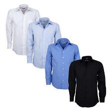 Langarm-Hemd mit Kentkragen für Herren von ARRIVEE in Übergrößen von XL bis 6XL