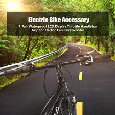 1 Paar Gasgriff Drehgriff 36V / 48 V für E-Bike Elektrofahrrad LCD Wasserdicht