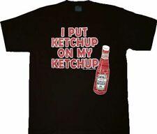 Heinz I Put Ketchup on My Ketchup Black Youth T-Shirt