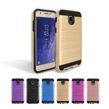 For Boost Mobile Samsung Galaxy J3 Achieve J337 Armor Slim Hybrid Cover Case