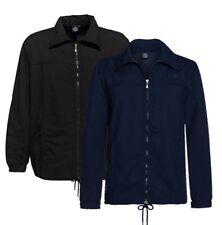 Übergrößen ! Elegante Fitnessjacke AHORN SPORTSWEAR Schwarz und Blau 3XL bis 10X