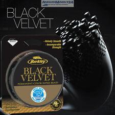 """BERKLEY """"Black Velvet"""" je 10m alle Stärken geflochtene Angelschnur Schnur Braid"""