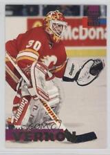 1994-95 Topps Stadium Club #79 Mike Vernon Calgary Flames Hockey Card