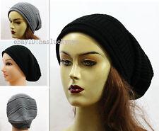 (D&Y)Brand Winter Soft Women & Men's Long Beanie Hat/Unisex Popular Cap #EM063