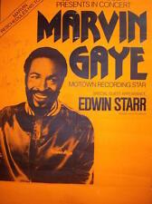 0397 VINTAGE MUSICA poster arte Marvin Gaye * GRATIS POSTER