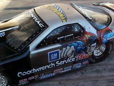 Warren Johnson Raw Bare Metal Superman 1999 Pro Stock Toy Drag Race Car 1/64