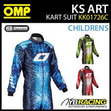 NEW! KK01726C OMP KS ART CHILDRENS KIDS JUNIOR BOYS KART SUIT CIK-FIA LEVEL 2