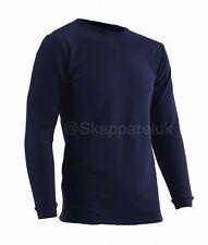 Xcelcius Thermal Underwear Base Layers Mens Long Sleeve Top Long Johns Black