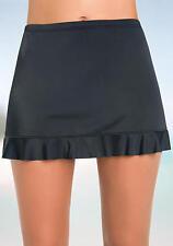 Caribbean Joe Swimwear Ruffle Hem Skirted Swim Suit Skirt Bottom 7002699 NWT