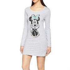 DISNEY chemise de nuit femme MINNIE gris S M L XL 36 38 40 42 44 NEUVE