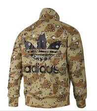 nwt~Adidas JEREMY SCOTT CRYSTALS Track Jacket sweat shirt OBYO Top firebird~Sz M