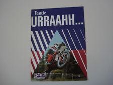 advertising Pubblicità 1981 MOTO FANTIC CROSS 125 COMPETITION