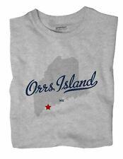 Orrs Island Maine ME T-Shirt MAP