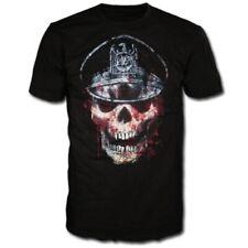Slayer Skull Hat Shirt S M L XL Thrash Metal Official T-Shirt Metal Tshirt