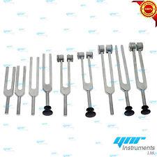 YNR Tuning Tunning Fork Chakra Tuner 128C 256C 512C Shuffle Rubber Handle CeMark