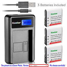 Kastar Battery LCD Charger for Kodak LB-060 & Kodak PixPro AZ251 PixPro AZ361