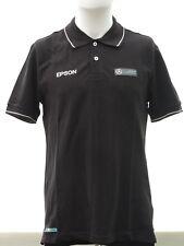 Mercedes AMG Petronas F1 Official Men's Classic EPSON Sponsor Polo Shirt