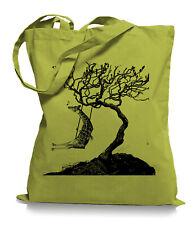 Ma2ca® Rocking Giraffe - Jutebeutel Stoffbeutel Tragetasche / Bag WM101