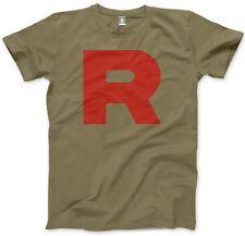 R Team - Rocket Motto Anime Mens Unisex T-Shirt