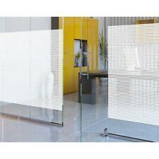 WHITE 10mm LINES DECORATIVE PRO WINDOW TINT TINTING FILM VINYL