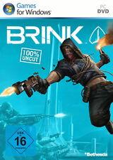 Brink PC, 2011, DVD-Box 100% UNCUT Revolution Team Work Keine Grenzen OVP
