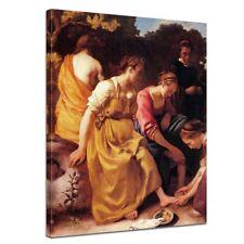 Kunstdruck - Alte Meister - Jan Vermeer - Diana mit ihren Gefährtinnen