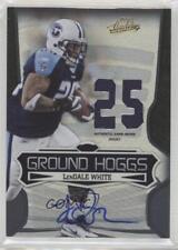 2009 Playoff Absolute Memorabilia #12 LenDale White Tennessee Titans Auto Card