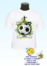 t-shirt bambino calcio lettore calcio personalizzabile nome a scelta ref 124