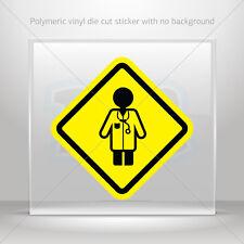 Stickers Decal Doctor Inside Sign Helmet Atv Bike vinyl bike st5 XX495