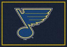 "5x8 Milliken St. Louis Blues 2061 Sports NHL Spirit Area Rug - Approx 5'4""x7'8"""