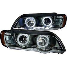 Anzo USA 121398 Projector Headlight Set w/Halo Fits 00-03 X5