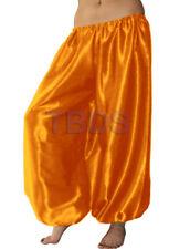 Golden   Student Satin Harem Yoga Trouser Belly Dance Pant Pantalons   27 Color