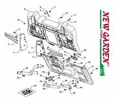 Explosionszeichnung Rahmen 84cm xdC140HD Aufsitzmäher Mäher castelgarden 2002-13