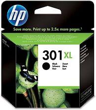 HP No 301XL Black Original OEM Inkjet Cartridge CH563EE Deskjet